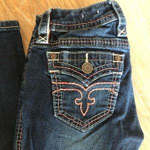 Rock Revival Skinny Jean Size 24 Alivia